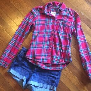 Flannel Hollister Shirt